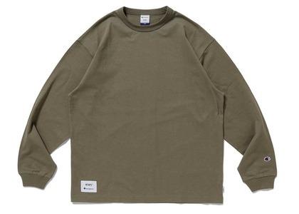 Wtaps × Champion long Sleeve T-Shirt Oliveの写真