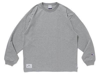 Wtaps × Champion long Sleeve T-Shirt Greyの写真