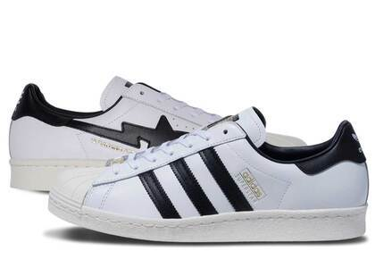 BAPE × adidas Superstar 80s Whiteの写真