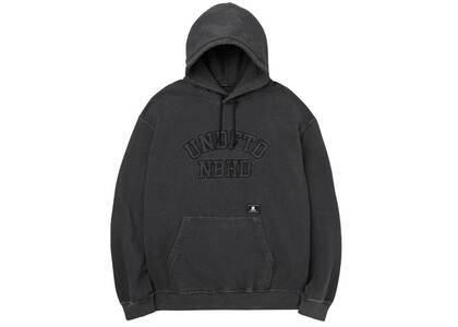 Neighborhood × Undefeated Hooded Sweatshirt Blackの写真