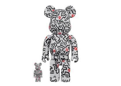 Be@rbrick Keith Haring #8 100% & 400%の写真