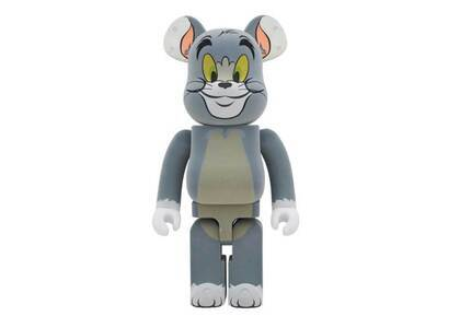 Tom And Jerry × Be@rbrick Tom Flocky Ver. 1000%の写真