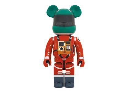 Be@rbrick Space Suit Green Helmet & Orange Suit Ver. 1000%の写真