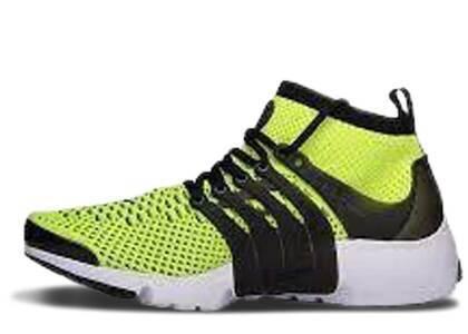 Nike Air Presto Flyknit Ultra Volt Black Whiteの写真