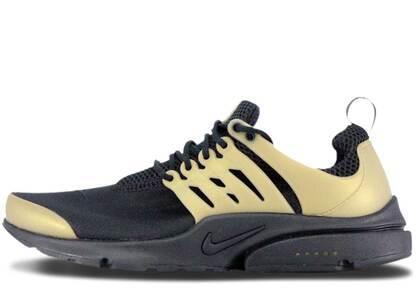 Nike Air Presto Black Metallic Goldの写真