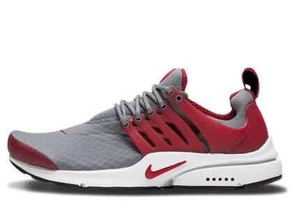 Nike Air Presto Cool Grey Gym Redの写真