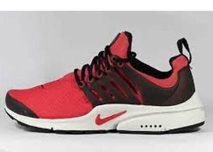 Nike Air Presto Track Red Blackの写真