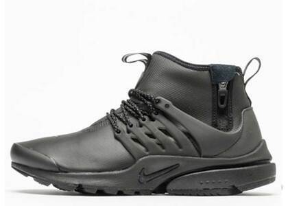 Nike Air Presto Mid Utility Triple Blackの写真