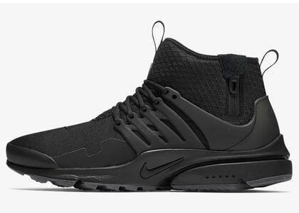 Nike Air Presto Mid Utility Black Dark Greyの写真