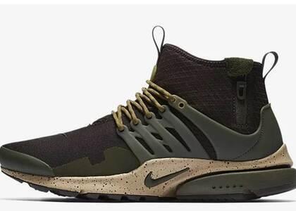 Nike Air Presto Mid Utility Velvet Brownの写真