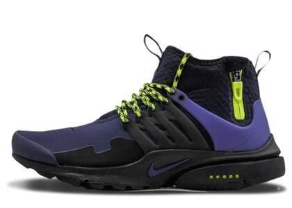 Nike Air Presto Mid Utility Navy Voltの写真