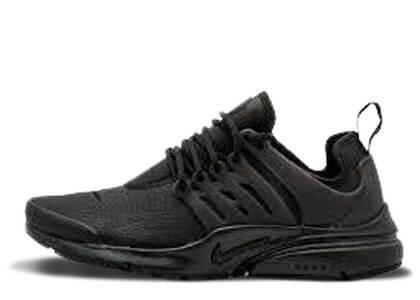 Nike Air Presto Premium Black Leather Womensの写真