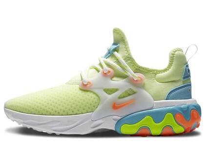 Nike React Presto Barely Volt Womensの写真