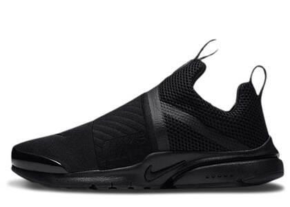 Nike Presto Extreme Triple Black GSの写真