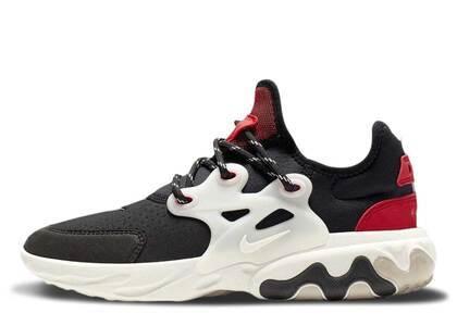 Nike React Presto Black Phantom Red GSの写真