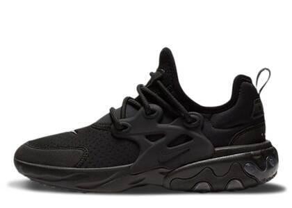 Nike React Presto Triple Black GSの写真