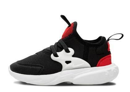 Nike React Presto Black Phantom Red TDの写真