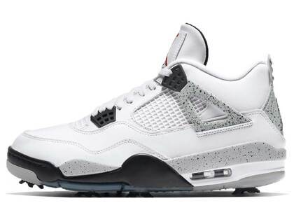 Nike Air Jordan 4 Golf White Cementの写真