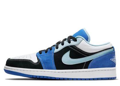 Nike Air Air Jordan 1 Low Black Racer Blueの写真