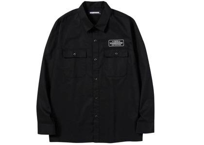 Neighborhood Classic Work C-Shirt. LS Blackの写真