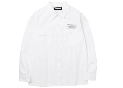 Neighborhood Classic Work C-Shirt. LS Whiteの写真