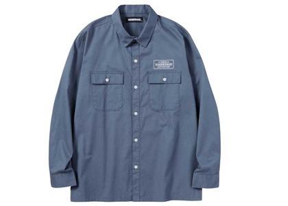 Neighborhood Classic Work C-Shirt. LS Blue Grayの写真