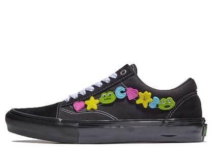 Frog Skateboards × Vans Old Skool Black の写真