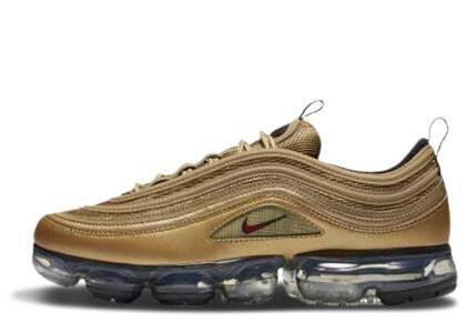 Nike Air VaporMax 97 Metallic Goldの写真