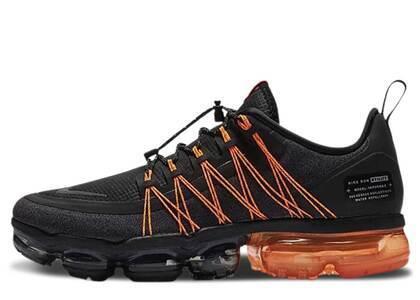 Nike Air VaporMax Run Utility Black Orangeの写真