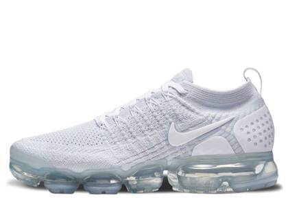 Nike Air VaporMax 2 White Pure Platinum Womensの写真