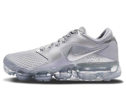 Nike Air VaporMax CS Wolf Grey Metallic Silver Womensの写真