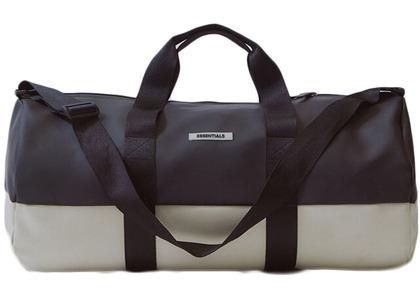 ESSENTIALS Waterproof Duffel Bag Black/Whiteの写真