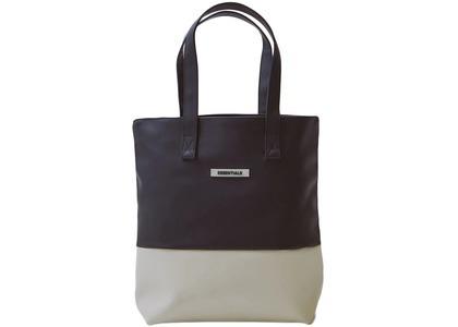 ESSENTIALS Waterproof Tote Bag Black/Whiteの写真