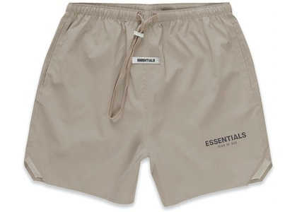 ESSENTIALS Volley Shorts Taupeの写真