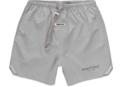 ESSENTIALS Volley Shorts Silver Reflectiveの写真
