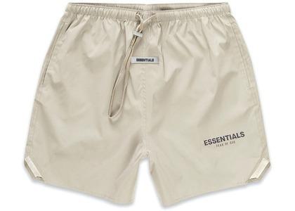 ESSENTIALS Volley Shorts Olive/Khakiの写真