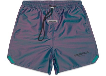 ESSENTIALS Volley Shorts Iridescentの写真