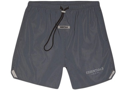 ESSENTIALS Volley Shorts Black Reflectiveの写真
