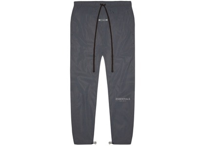 ESSENTIALS Track Pants Black Reflectiveの写真