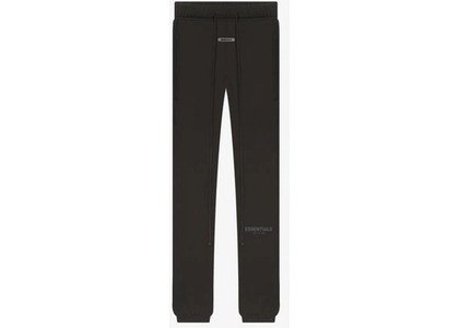 ESSENTIALS Sweatpants Weathered Blackの写真