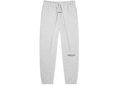 ESSENTIALS Sweatpants Light Heather Grey/Blackの写真