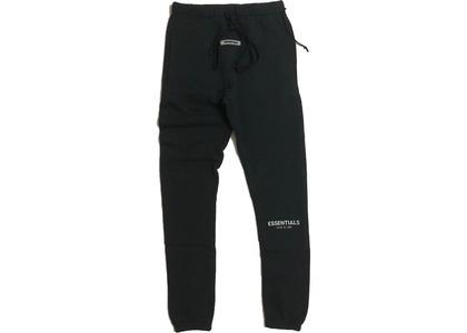 ESSENTIALS Sweatpants Black/Whiteの写真
