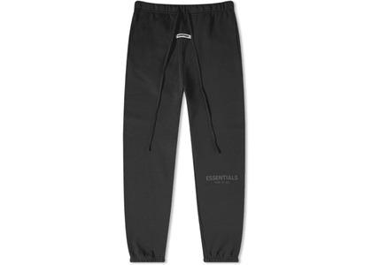 ESSENTIALS Sweatpants Black/Blackの写真