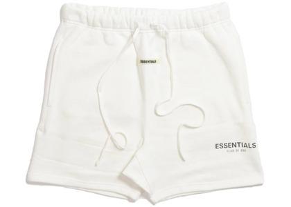 ESSENTIALS Sweat Shorts Whiteの写真