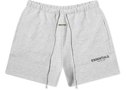 ESSENTIALS Sweat Shorts Light Heather Grey/Blackの写真