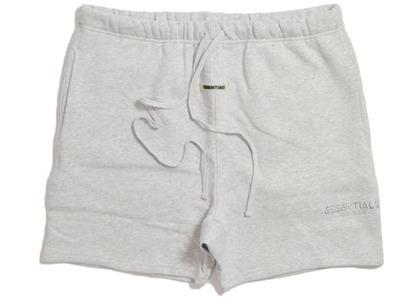 ESSENTIALS Sweat Shorts Light Heather Greyの写真