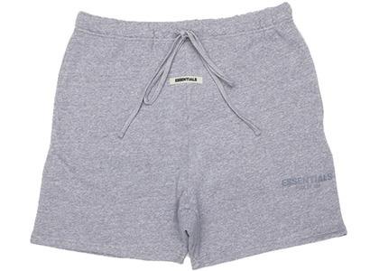 ESSENTIALS Sweat Shorts Dark Heather Grey/Greyの写真