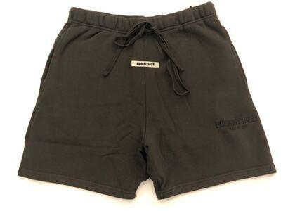 ESSENTIALS Sweat Shorts Black Inkの写真
