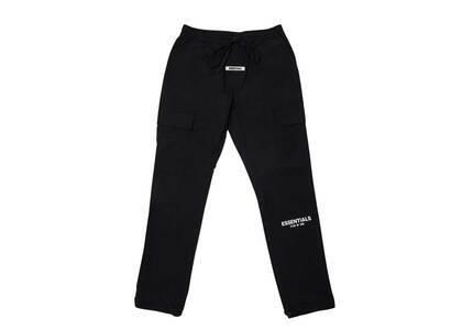 ESSENTIALS Nylon Cargo Pants Blackの写真