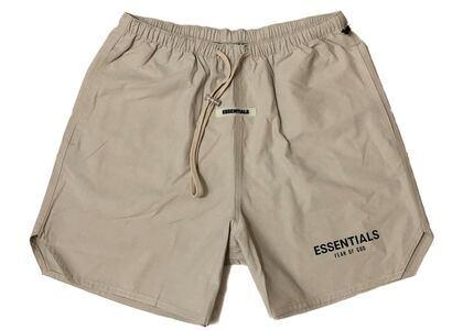 ESSENTIALS Nylon Active Shorts Tanの写真